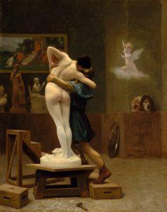 Gemälde Pygmalion und Galatea
