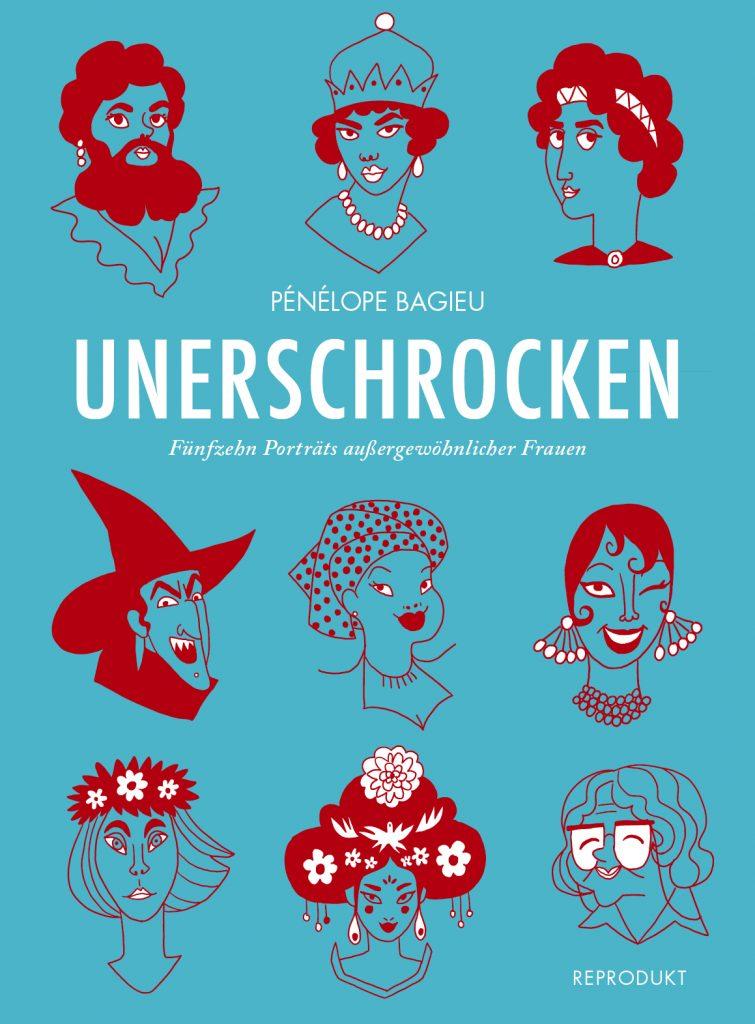 Unerschrocken Buchcover Reprodukt Verlag