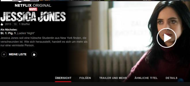 Jessica Jones Staffel 1: Alles Antihelden