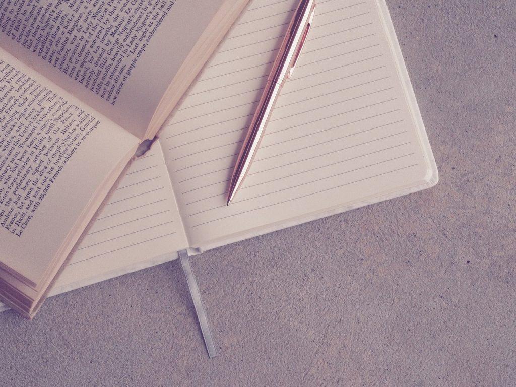 Notizen zum Buch machen
