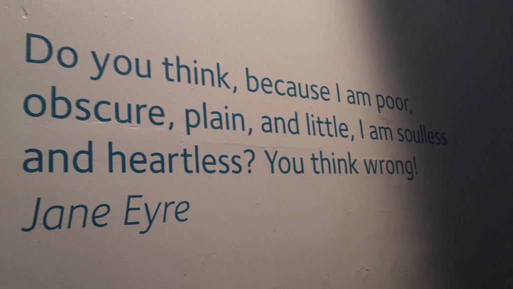 Bronte Museum Zitat
