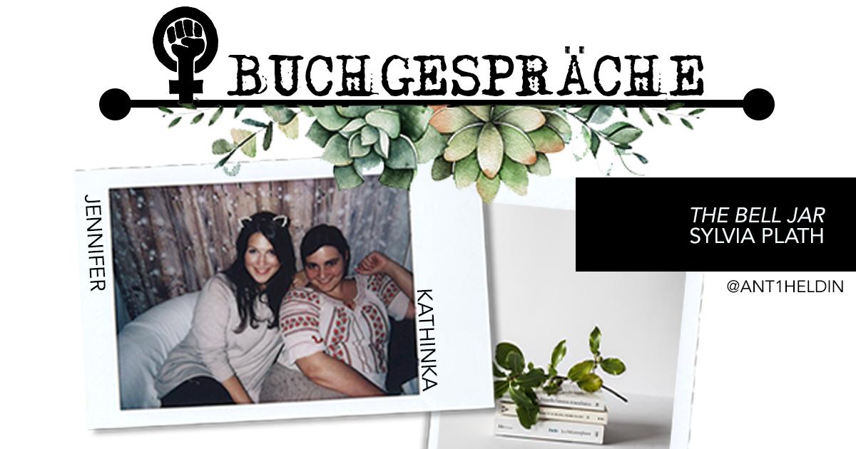 The Bell Jar Buchgespräche Beitragsbild