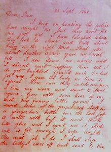 Bekennerbrief Dear Boss Jack the Ripper