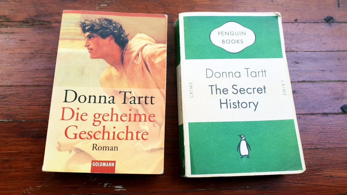 Donna Tartt The Secret History