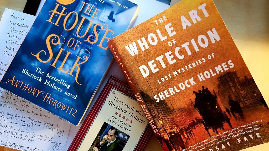 Sherlock Holmes Pastiches Horowitz Faye