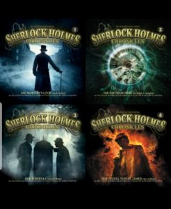sherlock holmes chronicles cover