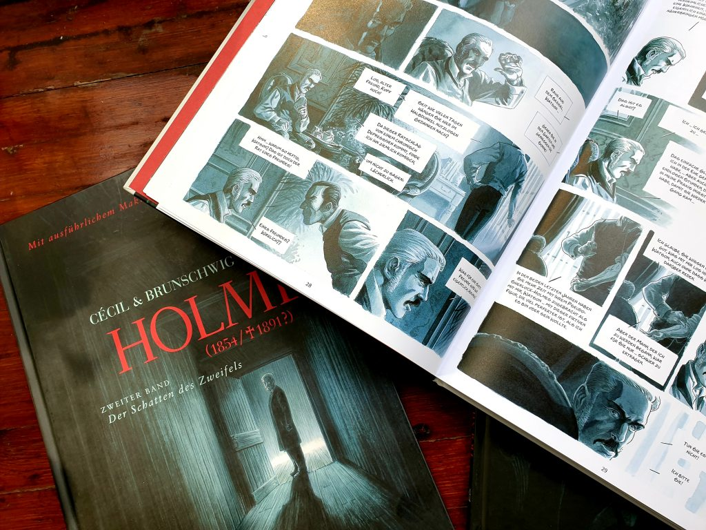 holmes graphic novel zeichnungen