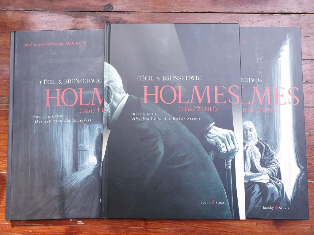 sherlock holmes graphic novel cover