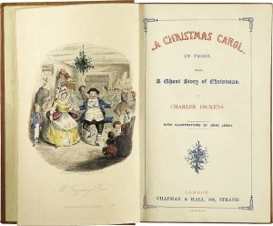 Frontispiz A Christmas Carol Charles Dickens
