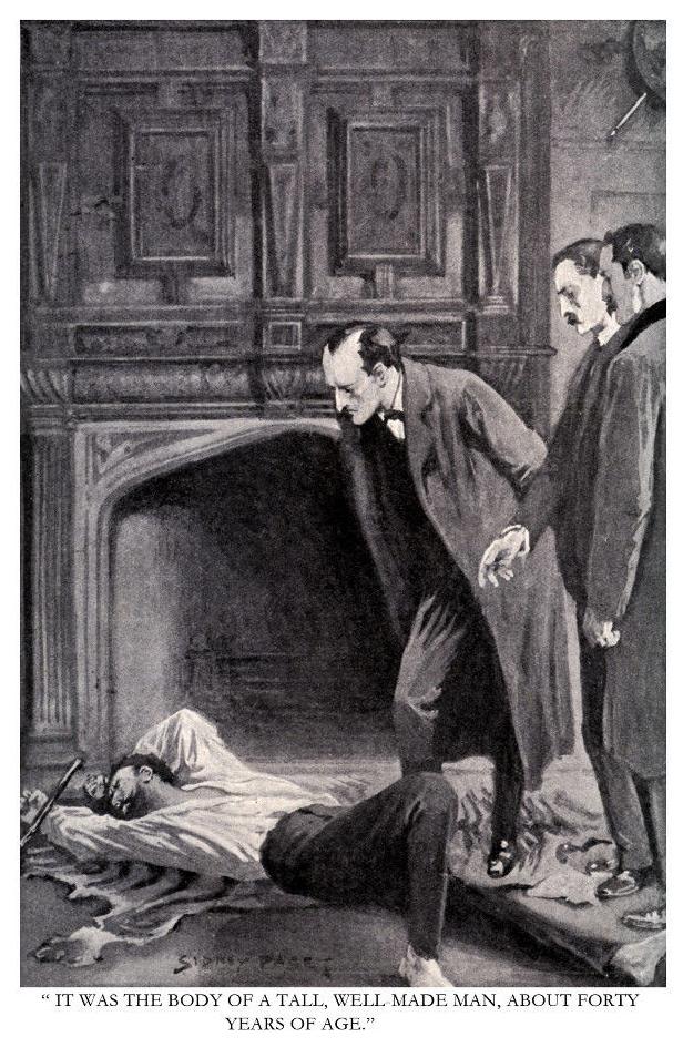 Illustration The Abbey Grange Sherlock Holmes