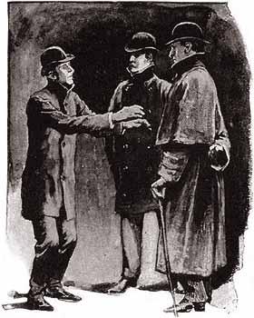 Illustration The Blue Carbuncle Sherlock Holmes