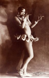 Josephine Baker als Vertreterin des neuen Frauenbilds