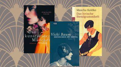 Autorinnen der 20er Buchcover