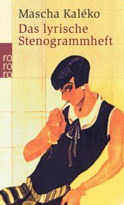Das lyrische Stenogrammheft Cover
