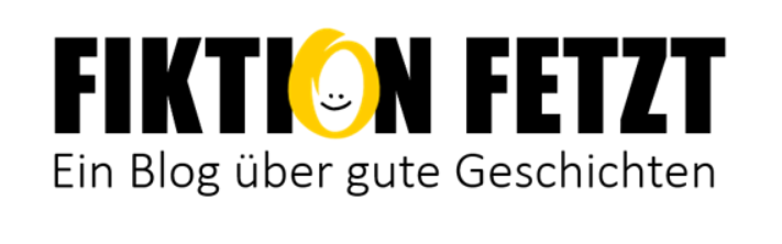 """Blog-Logo """"Fiktion fetzt"""""""